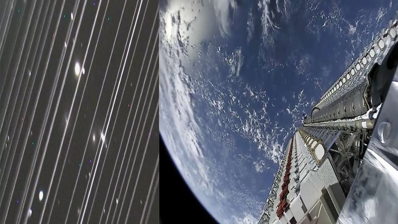Is Spacex Starlink ruining Astronomy?