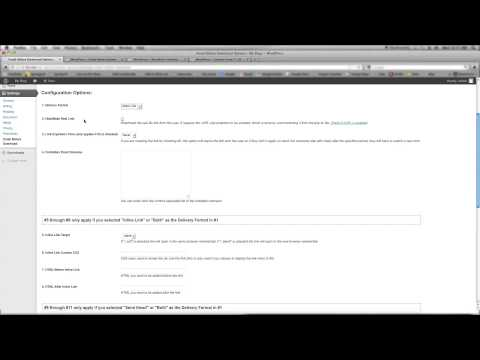 Require an email address to download a file in Wordpress