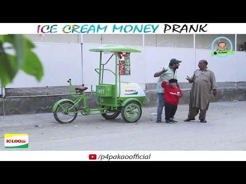 | ICE CREAM MONEY PRANK | By Nadir Ali & Rizwan in | P4 Pakao | 2017