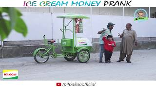| ICE CREAM MONEY PRANK | By Nadir Ali & Rizwan in | P4 Pakao | 2017
