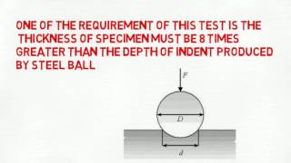 Brinell hardness test in Hindi
