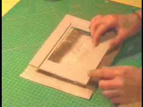 IL VILLAGGIO DELLA CREATIVITA  Realizzare una cornice in carta e cartone  YouTube