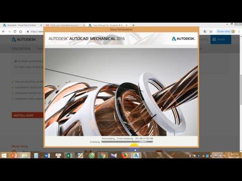 Hướng dẫn cài đặt phần mềm autocad mechanical│CADCAMCNC