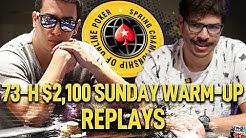 SCOOP 2020 #73-H $2k silentm0de | baeks22 | lasagnaaammm Final Table Poker Replays