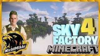 LIVE   Minecraft Sky Factory 4 Facecam   Respawm   NichtMikki