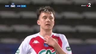 Головин забил 5 й гол за Монако в этом сезоне в полуфинале Кубка Франции
