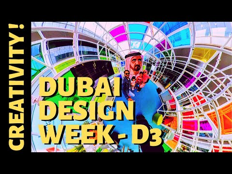 What's in DUBAI DESIGN WEEK | #dubaidesigndistrict | D3 | Dubai Design District | #insta360