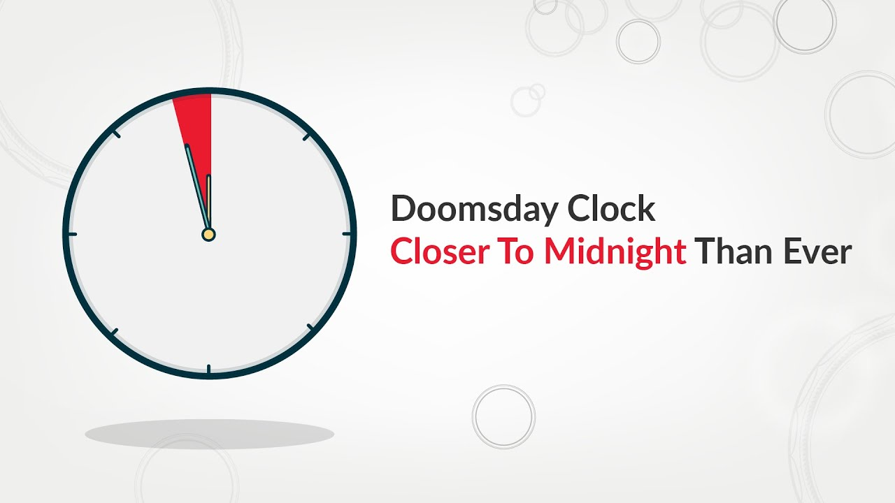 100 Seconds To Midnight The Doomsday Clock Explained In 7 Minutes Youtube