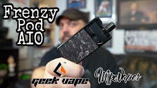 Geek Vape Frenzy Replaceable Coil All In One Vape Kit