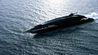 Black Swan Superyacht Megayacht Concept Luxury Yacht - Luxury Millionaire Lifestyle