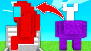 AMONG US en MINECRAFT! 😱🤯 | Minecraft Parkour