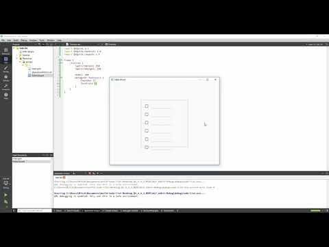 Using C++ Models in QML Tutorial