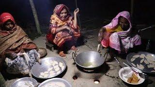 Bengali Kata Pitha Recipe / Village Style So Yummy Kata Pitha / Tasty Sugar Kata Pitha Desi Recipe