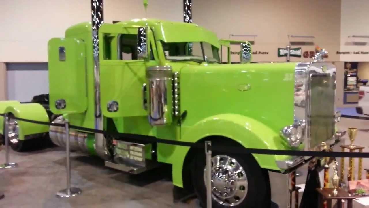 Truck Concept 18 Wheeler Detroit Auto Show 2014 Youtube