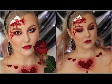 Bloody Queen Of Hearts Tutorial // HALLOWEEN '16