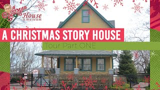 A Christmas Story House Tour | Front Room