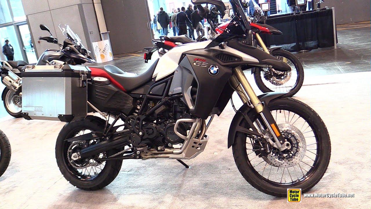 2015 Bmw F800gs Adventure Walkaround 2014 New York Motorcycle Show Youtube
