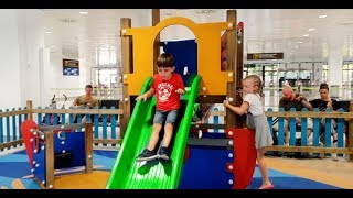 Playground Fun For Kids with Slides and Swings
