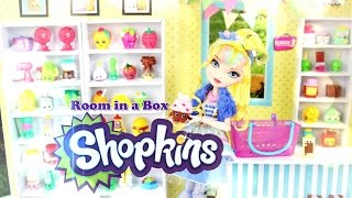 DIY - How to Make: Doll Room in a Box: Shopkins - Handmade - Crafts