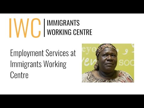 Employment Services at IWC - Hamilton Newcomers Club (July 2015)