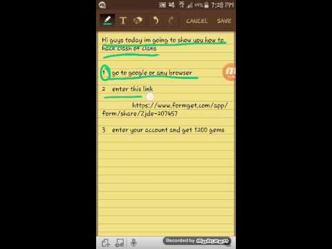 How To Hack Clash Of Clans 2016 %100 Works