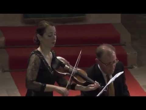 J.J. Froberger Allemande  P. Nikitassova, Violine J.-A. Bötticher, Cembalo