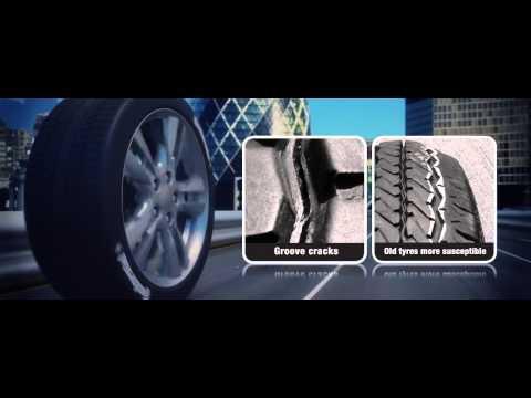 Tyre Tread Distortion