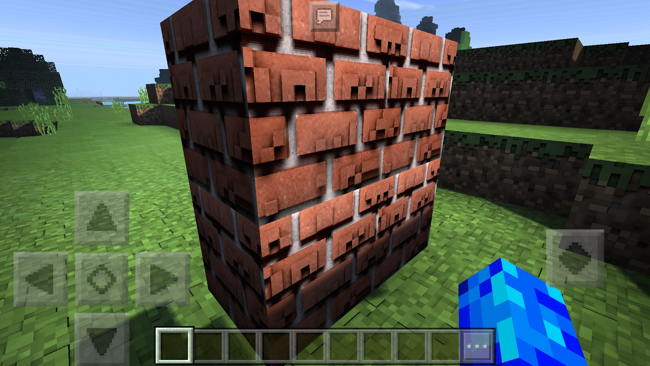 The First Mcpe 3d Resource Pack Minecraft Pe 1 0 S3d Resource Pack