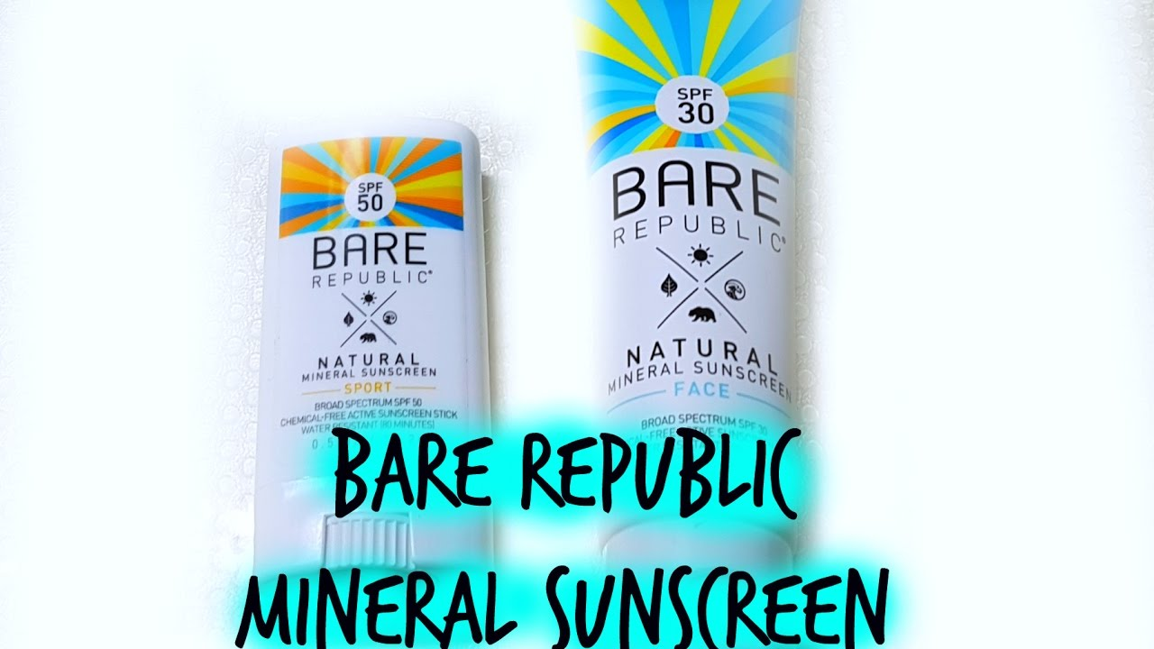 Tinted Mineral Sport Stick by bare republic #7