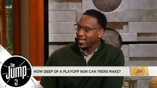 Tracy McGrady on Miami Heat: 'This is a bad matchup for the Sixers' | The Jump | ESPN
