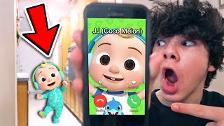 DO NOT CALL JJ FROM COCO MELON!! *HE BROKE INTO MY HOUSE*