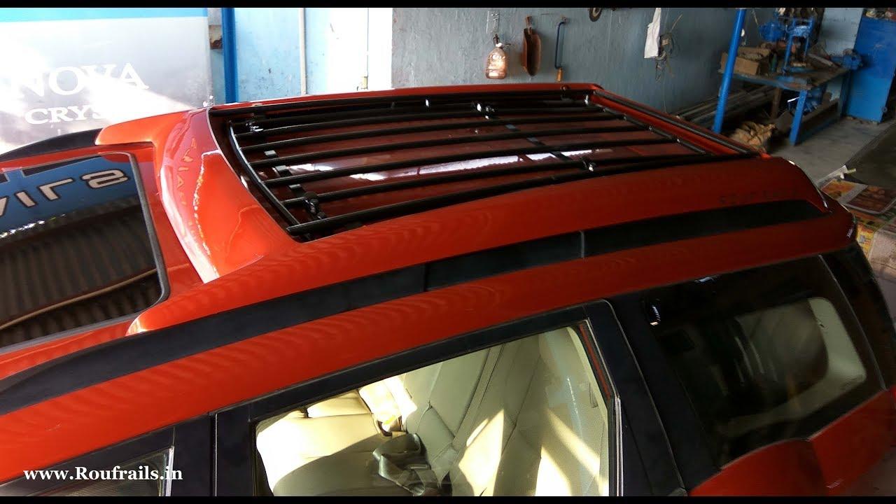 Mahindra Xuv Roof Rails 2018 Mahindra Xuv500 Facelift Roof