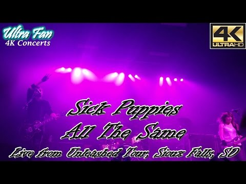 Sick Puppies - All The Same Live from the Unleashed Tour Sioux Falls, SD