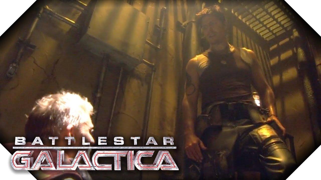 Download Battlestar Galactica | Leoben's Proposition To Anders