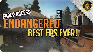 Early Access   Endangered   Best Early Access FPS! (Endangered Gameplay)