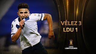 Vélez Sársfield vs. LDU Quito [3-1]   RESUMEN   Fecha 4   CONMEBOL Libertadores 2021