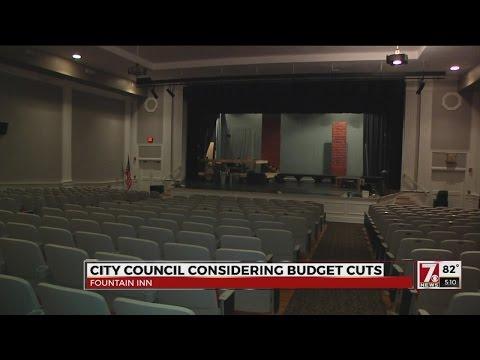 Fountain Inn theater's funding in jeopardy