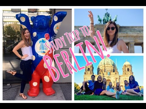 Study Trip to Berlin // Week 1 // CC Overseas Travel Vlog