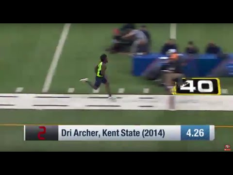 Top 5 Fastest 40-Yard Dash Times From The Combine