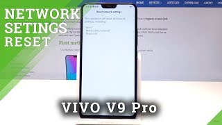 How to Reset Network Settings in VIVO V9 Pro - Restore Network Configuration