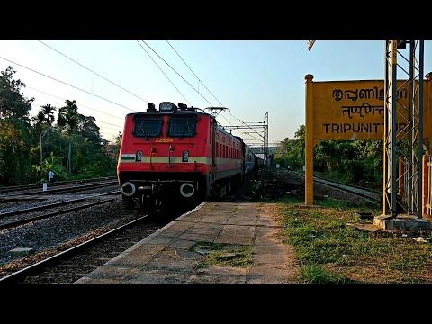 Venad Express and Island Express arrives Tripunithura