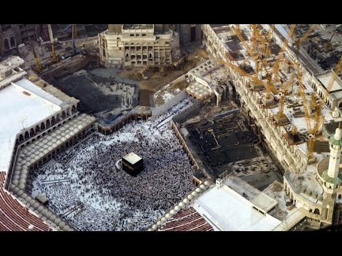 The begining of the construction of Masjid Al Haram (full HD)