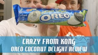 Singapore Oreo Coconut Delight - Crazy From Kong Review !!