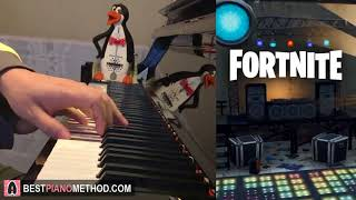 FORTNITE - Night Club Music (Piano Cover by Amosdoll)