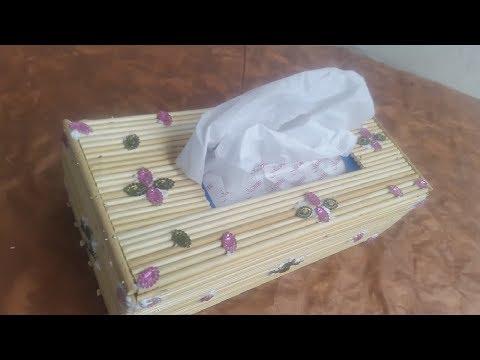 Tushy Paper Box from roll Sticks | Tushy paper Box