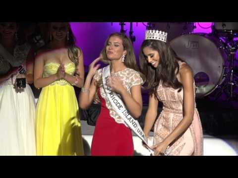 Crowning Moment - Miss Rhode Island USA 2016