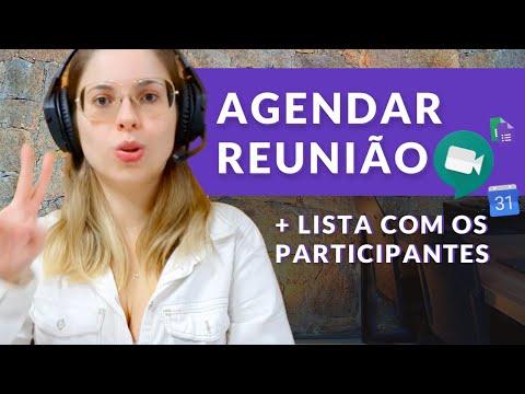 Como agendar reunião do Google Meet no Google Agenda + Lista de participantes (Meet e Chat - Ep 10)