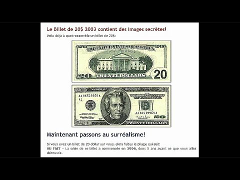 Pliage des Dollars Americains (WTC, Twin Towers)