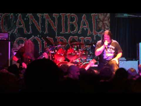 Cannibal Corpse @ Metro Opera House - Oakland - Dead Human Collection - 17/05/2013