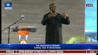 The Platform: Obi Expresses Worry On Nigeria's Level Of Borrowing, Slams Lack Of Cutting Cost Pt 1